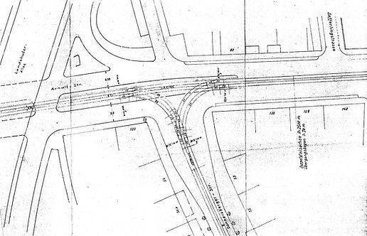 ab 1970 Streckenplan 25 Arnulfstrasse Do