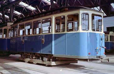 Beispielhaft für die Bahnhofswagen  Typ: e 1.48 der Wagen mit Betriebsnummer 1138 münchen tram