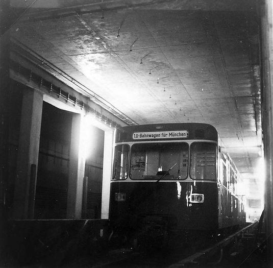 U-Bahn Testfahrten 1969 Alte Heide