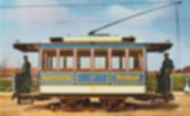 Z -.32 Schuckert Triebwagen Nr. 14 mit orginal Schuckert Fahrgestell münchen Tram