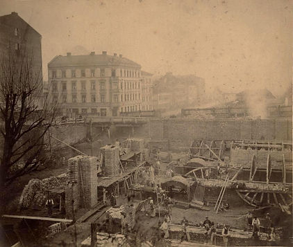 1885 Bau Pschorrbräu Martin-greif-strass