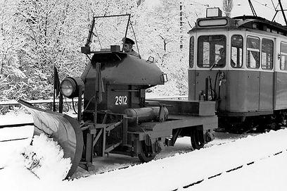 Schneepflug  Typ: sp 1.55 Betriebsnummer 2912 münchen tram