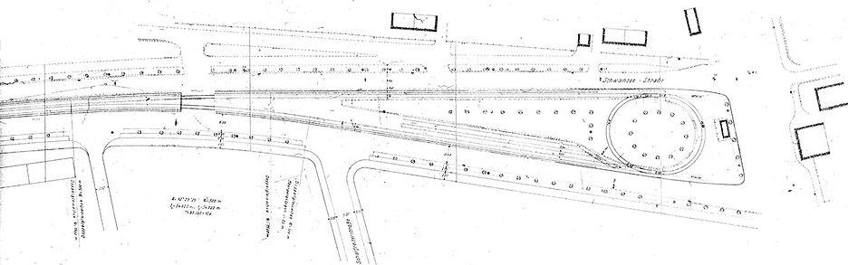 Streckenplan 16 Schleife Schwanseestrass