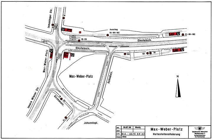 68 Max-Weber-Platz Kreuzung Knoten 20-07