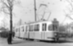 Die M3/m3-Züge haben ihre ersten Linieneinsätze auf der Linie 8. Am 14.3.54 steht der frisch angelieferte M3/m3-Zug 788/1623 an der Endhaltestelle Kölner Platz münchen tram trambahn
