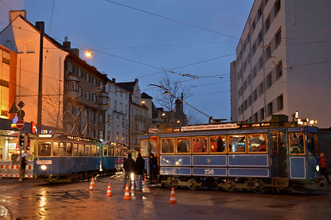 14.12.2013 Eröffnung Pasing Bahnhof tram münchen fmtm