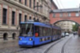 Tw 2114 in der Maffeistraße 1.8.2016 tram münchen