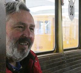 Dieter Kubisch ist der zuverlässige Zu-  lieferer, wenn es um Tram-Themen geht  münchen tram