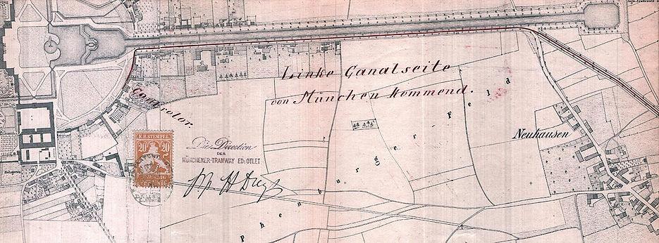 1882_Planung_Pferdebahn-Verlängerung_zu