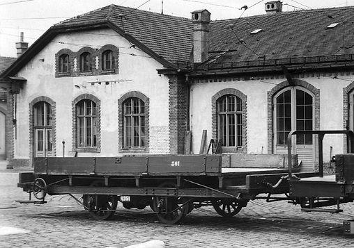 Transportwagen/Niederbord  Typ: q 2.52 Betriebsnummer 861 München Tram