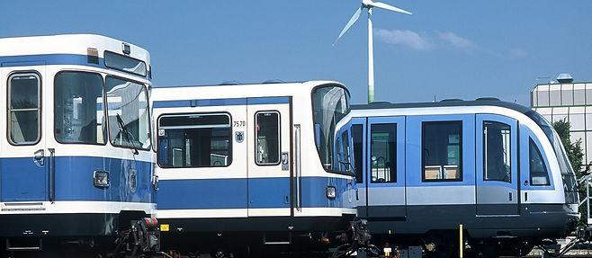 mvg-u-bahn-zuege1240 a-wagen B-Wagen C-Wagen