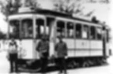 A-Tw 176 am Westfriedhof 1908 münchen tram