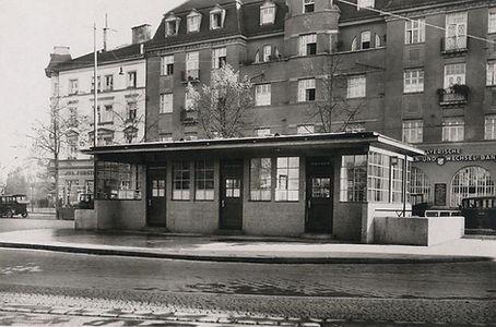 1930 Stationshaus Rotkreuzplatz Stadtarc