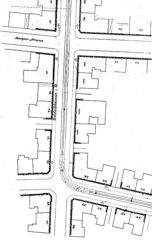 Streckenplan 05 Schleissheimerstrasse Gö