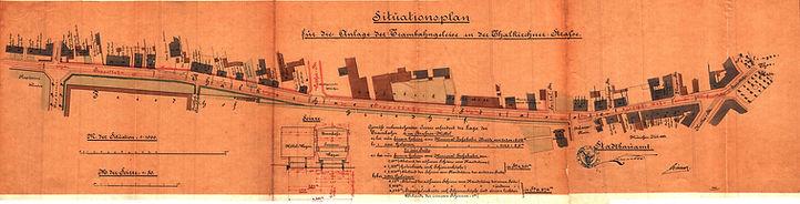 1883-07_Planung_Trasse_Trambahn_Thalkirc