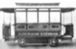 Bild 2  Triebwagen der Ungererbahn 1886.
