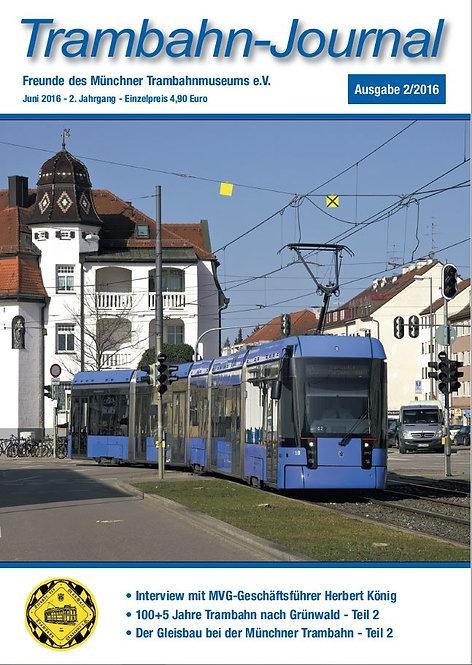 Trambahn-Journal    Ausgabe  2 | 2016