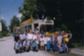 3. Juni 1999 Sonderfahrten für Ukrainische Kinder tram münchen FMTM