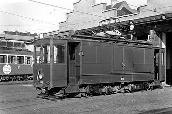 münchen tram tra                      1931 und 1934 wurden zwei A-Wagen zu Arbeitsfahrzeugen umgebaut  Noch bis in die 1960er-Jahre standen beide Fahrzeuge im Werkstatteinsatz bahn