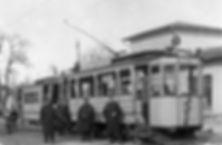München Tram Triebwagen B der Linie 1