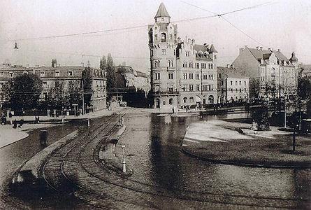 1928 - 10)  Neuhausen)  Rotkreuzplatz  (