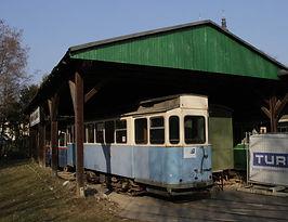 G 1.8 Triebwagen 2970 im Grazer Museum vor einer Rückholung nach München tram trambahn