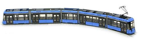 Münchner Vario-Bahn Spur H0       - nicht motorisiert -