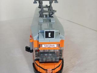 Legoland Turin, heute: TW 2924, der Fahrschulwagen