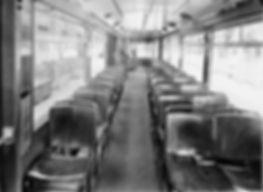 Lenkdreiachs-Beiwagen  Typ: m 2.63 Betriebsnummer 1603 innen tram München