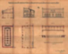 Plan zur Erbauung einer Reparaturwerkstätte im Trambahnhof an der Nymphenburgstraße 81 vom Februar 1899 München trambahn tram fmtm