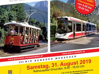125 Jahre Straßenbahn Gmunden