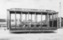 "Offene Pferdebahnwagen ""Amerikaner"" tram münchen pferdetram"