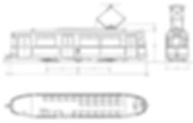 M 3.65-Wagen bauskizze skitte zeichnung münchen Tram