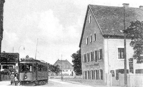 A-Tw 180 in Berg-am-Laim 1927 tram münchen