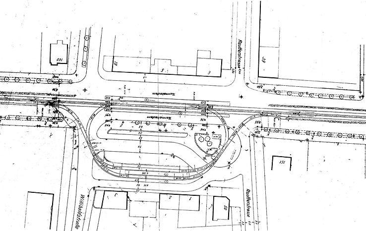 Streckenplan 24 Willibaldplatz zweigleis