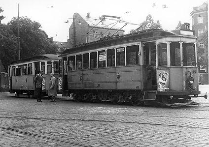 D2-Tw 486 + f-Bw 1406 im Betriebshof Seerieder Straße münchen munich tram trambahn