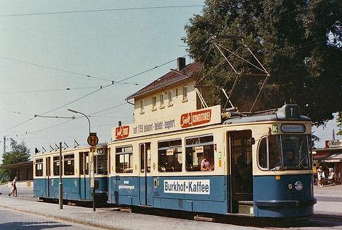 Vor fast 40 Jahren am Moosacher Bahnhof