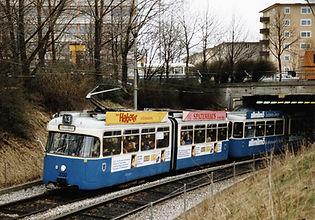 Abschied von den Stadtbahnstrecken: Am 20.11.1993 ersetzt die U-Bahn die Strecke ins Hasenbergl. münchen tram