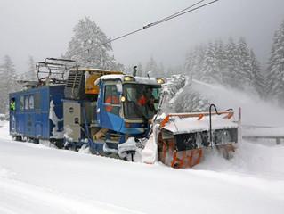 Zugspitzbahn im Winter