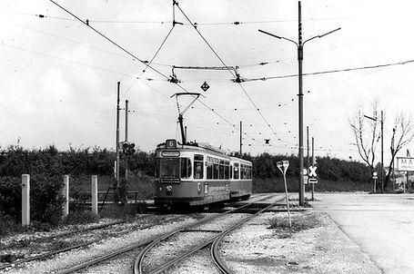 L6 Berliner strasse Umleitung 1967 Linie6 Umleitung Trambahn Tram