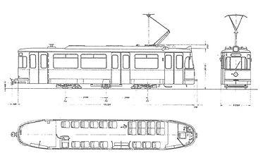TRIEBWAGEN TYP M 5.65 Nr. 2654 münchen tram trambahn
