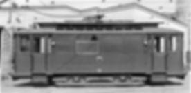 Werkstattwagen  Typ: W 6.29 Betriebsnummer 62 München Tram