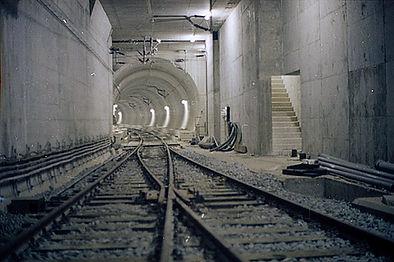 München_11-1971_S-Bahntunnel_Baustelle_