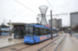 Eröffnung Verlängerung nach St. Emmeram (Effnerplatz) tram münchen