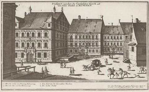 1700 Salzstadl Promenadeplatz DE-1992-FS