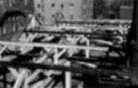 Blick auf die hintere große Wagenhalle RichtungNymphenburgerstraße münchen