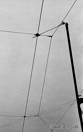 Stromabnahme bei Kompressor VI im Jahr 1943 tram münchen