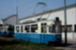 Bahnhofswagen    Typ: M 3.64  Betriebsnummer: 2983 München Tram