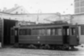 Werkstattwagen  Typ: W 8.1 Betriebsnummer: 66 münchen tram