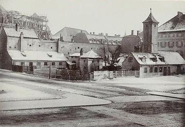 1886 Lenbachplatz bau Synagoge DE-1992-F